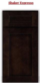 Shaker Espresso Cabinet
