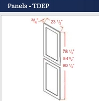 TALL DECORATIVE END PANEL