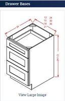 Drawer Base 36-3