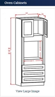Oven Cabinet 3396