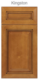 Maple Cabinet Light Brown Stain Kingston