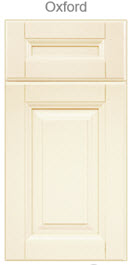 Creamy White Oxford Cabinets