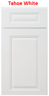 White Raised Panel Kitchen Cabinet
