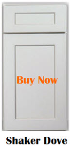 Shaker Light Grey Kitchen Cabinets
