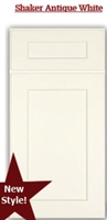Shaker Antique White Sample Door