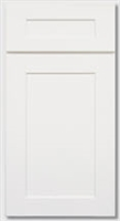 Shaker White Sample Door